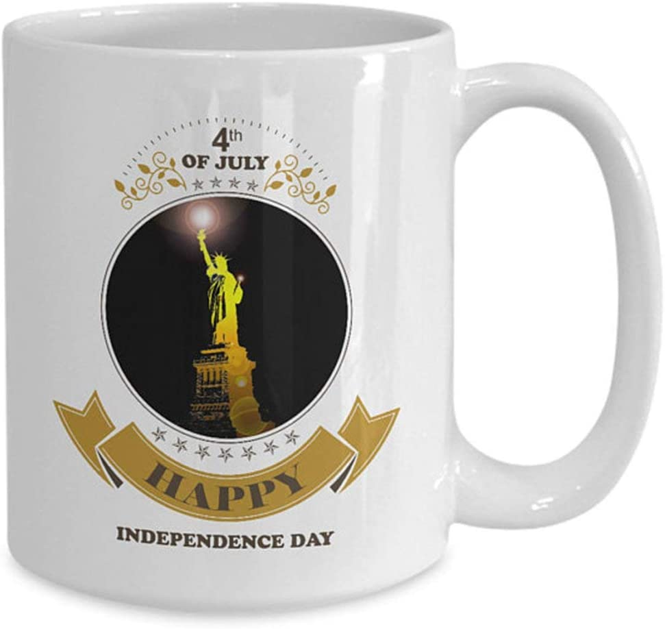 Happy 4th of July Mug - Coffee Mugs Independence Day of ...