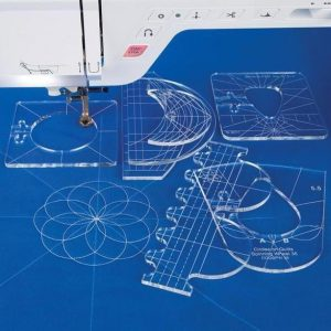 Quilting Template Set - 6 Pieces